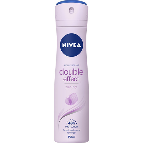 NIVEA spray 150ml women double effect 48h
