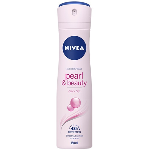 NIVEA spray 150ml women pearl & beauty 48h (ΕΛ)
