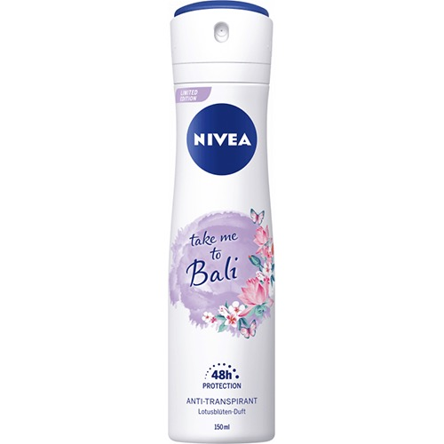 NIVEA spray 150ml women take me to Bali