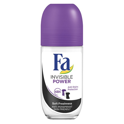 FA roll on 50ml invisible power