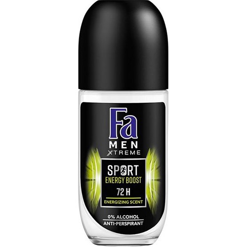 FA roll on 50ml sport energy boost