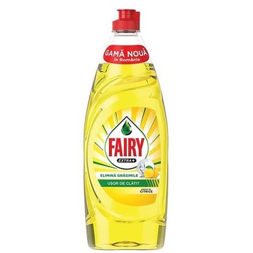 FAIRY ΥΓΡΟ ΠΙΑΤΩΝ 650ml extra plus citrus