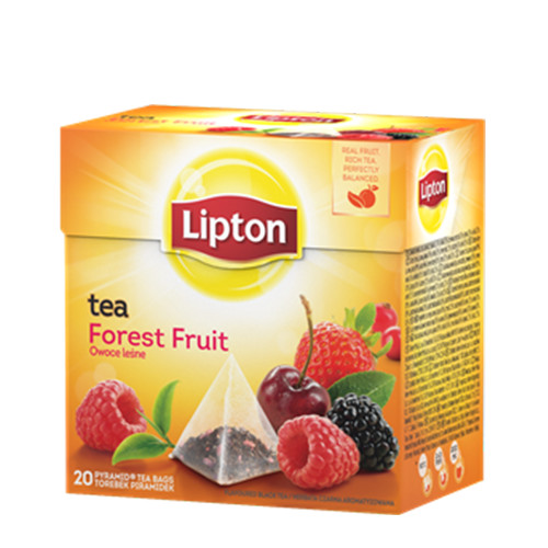 LIPTON 20φακ πυραμ forest fruit