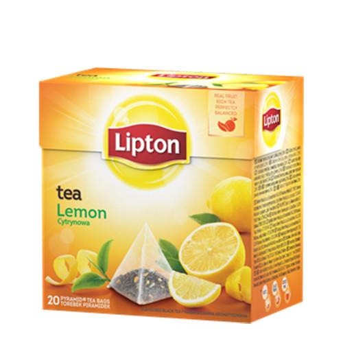 LIPTON 20φακ πυραμ lemon