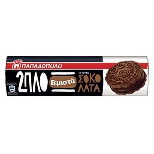 ΠΑΠΑΔΟΠΟΥΛΟΥ 2ΠΛΟ ΓΕΜΙΣΤΑ 230γρ (ΕΛ) σοκολάτα