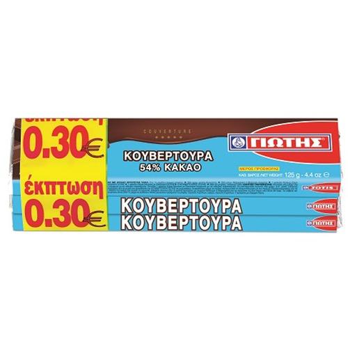 ΓΙΩΤΗΣ ΚΟΥΒΕΡΤΟΥΡΑ 3πλη συσκευασία -0,30 (ΕΛ)