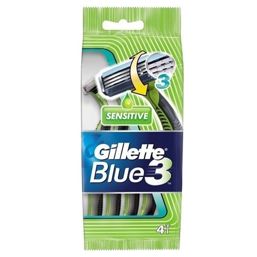GILLETTE BLUE 3 4+1 (ΕΛ) sensitive