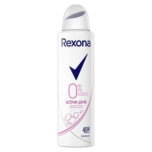 REXONA deo spr 150ml women active pink 0%