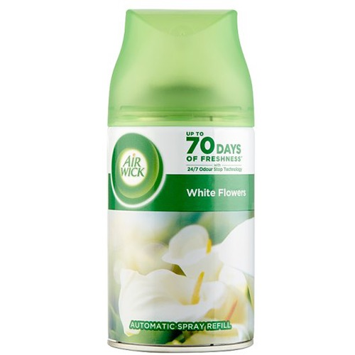 AIRWICK fr.matic ανταλ. 250ml white flowers