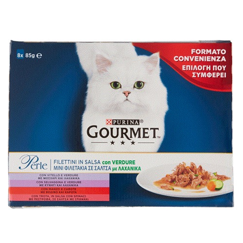 GOURMET PERLE 8X85gr (ΕΛ) λαχανικά