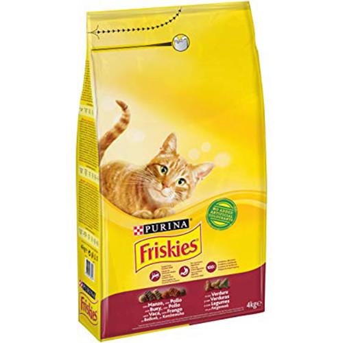 FRISKIES 4kg(ΕΛ) μοσχ-συκώτι-λαχαν