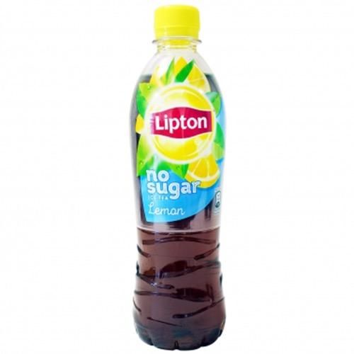 LIPTON BLACK ICE TEA 500ml NO SUGAR (ΕΛ) lemon