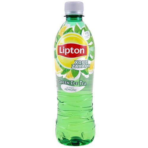 LIPTON GREEN ICE TEA 500ml NO SUGAR (ΕΛ)