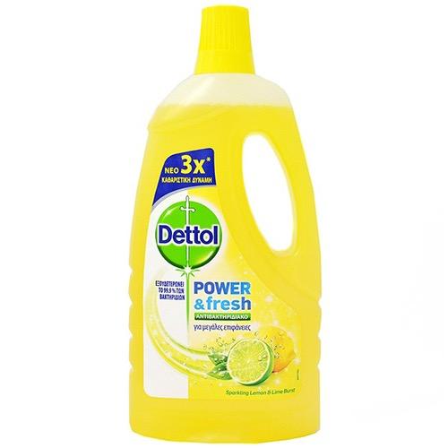 DETTOL ΠΑΤΩΜΑ power n' fresh1lt citrus (ΕΛ)