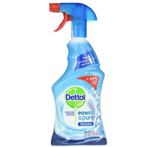 DETTOL spray 750ml (500+250ml δώρο) μπάνιο