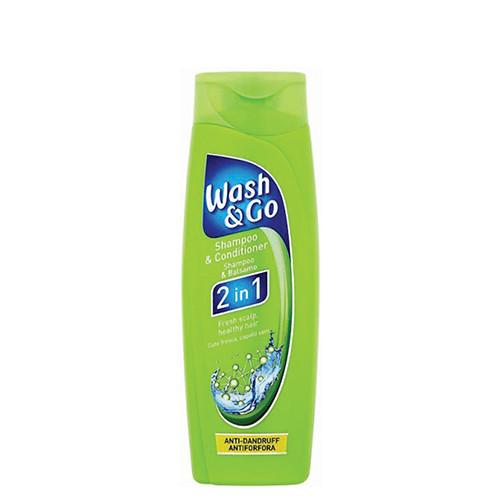 WASH & GO sh. 200ml 2in1 anti dandruff