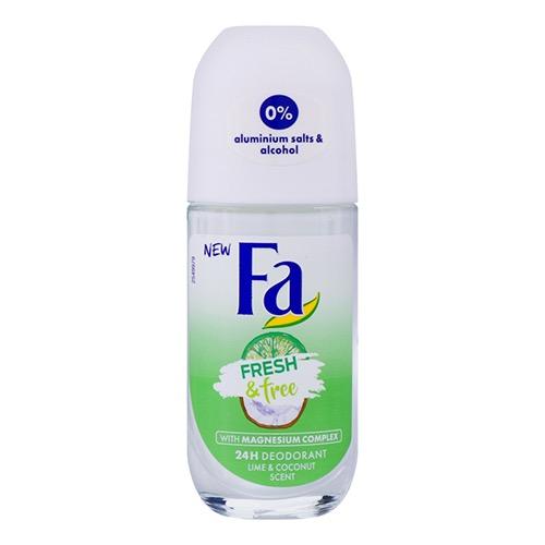 FA roll on 50ml fresh n' free lime+coconut