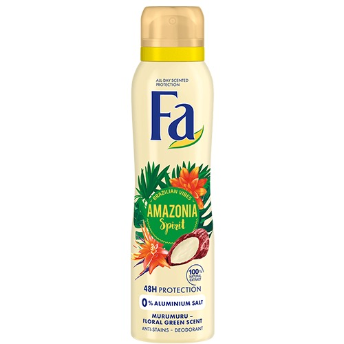 FA spray women 150ml amazonia spirit