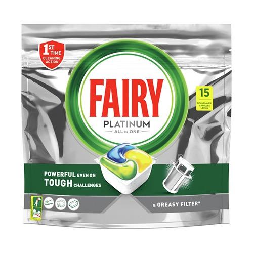 FAIRY ACTIVE CAPS 15tabs platinum lemon