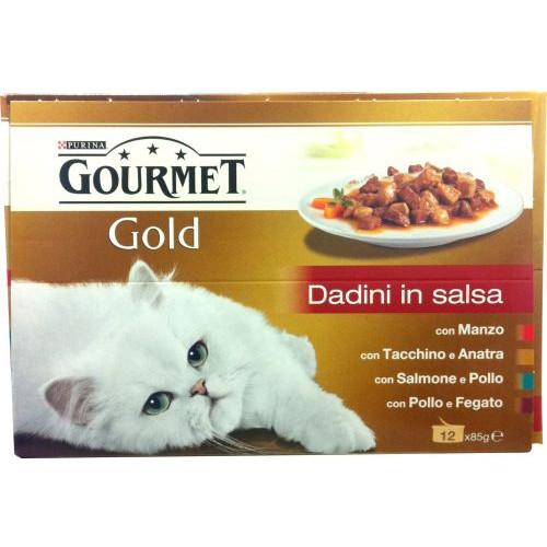 GOURMET GOLD 85gr x 12 mix