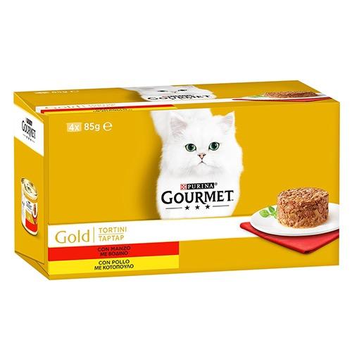 GOURMET GOLD 85gr x 4 tortini mango polo