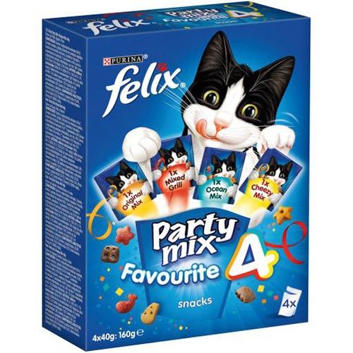 FELIX PARTY MIX 4X40gr MPK