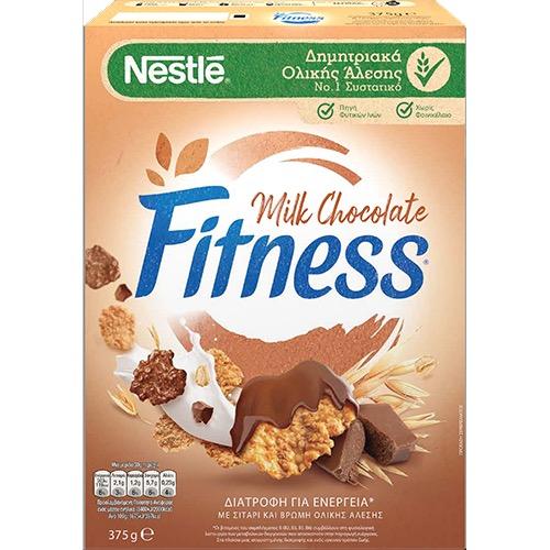 FITNESS δημητριακά 375γρ ολικής (ΕΛ) σοκολάτα