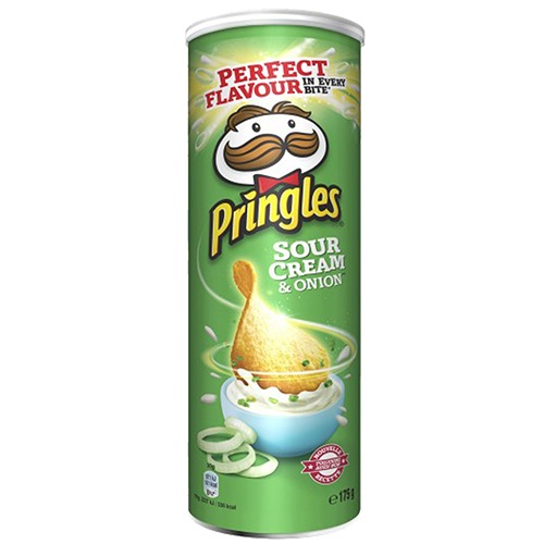 PRINGLES 175gr (ΕΛ) sour cream & onion