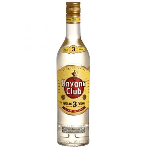 HAVANA CLUB RUM 3 ετών κίτρινο 700ml (ΕΛ)