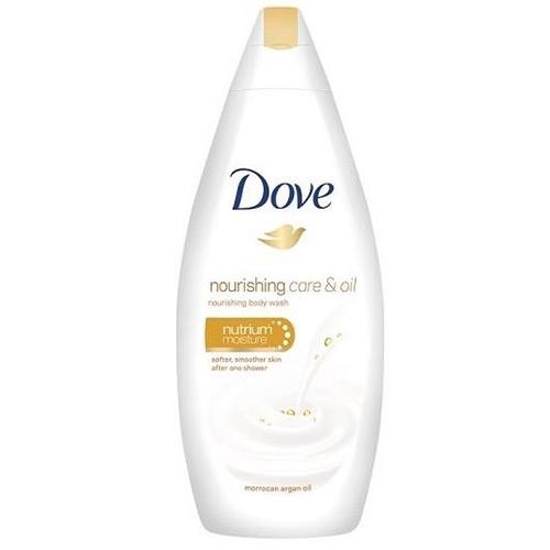 DOVE bath 250ml nurishing care & oil