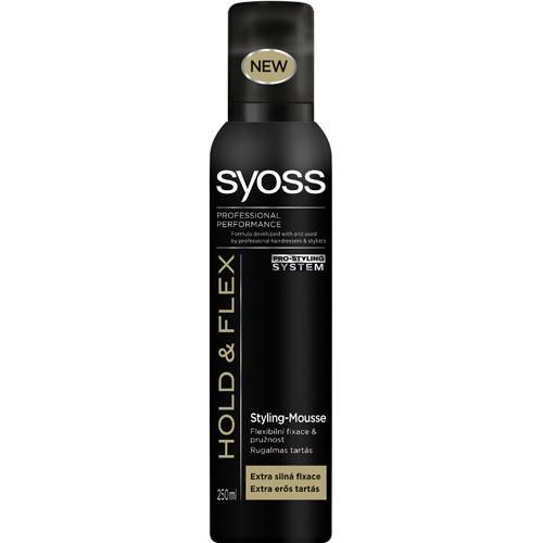 SYOSS αφρός μαλλιών 250ml (ΕΛ) hold n' flex