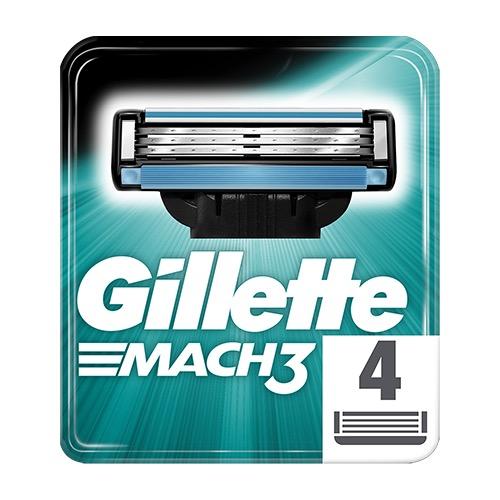 GILLETTE MACH 3 ΑΝΤ/ΚΑ 4τεμ (ΕΛ)