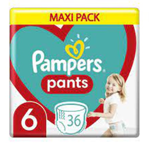 PAMPERS PANTS 36τεμ No6 (15+kgr) ΕΛ