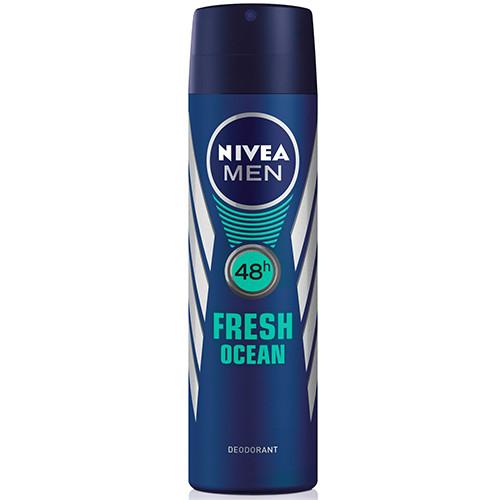 NIVEA spray 150ml men fresh ocean 48h