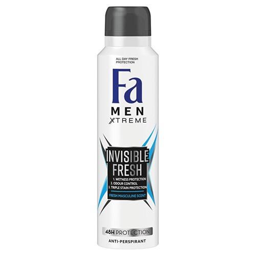FA spray men 150ml (ΕΛ) extreme invisible fresh