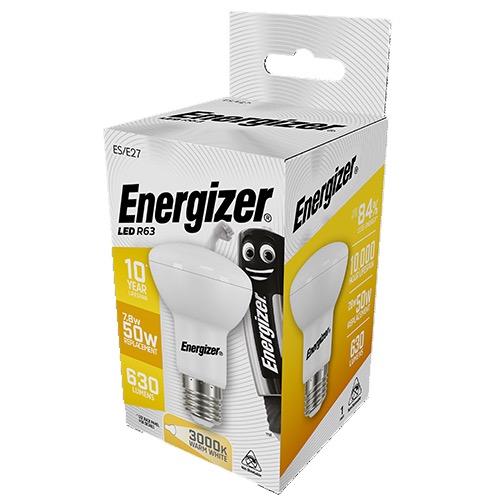 ENERGIZER LED R63 E27 7,8W WARM WHITE 3000K