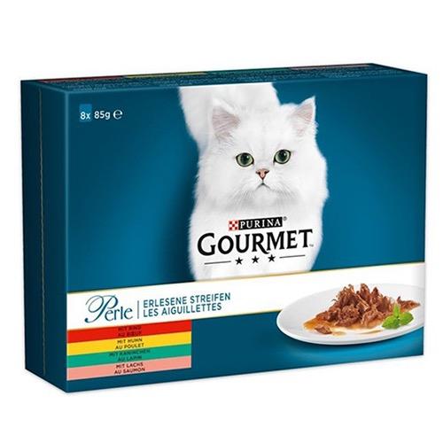 GOURMET PERLE 8X85gr (ΕΛ) φιλετίνια σε σάλτσα