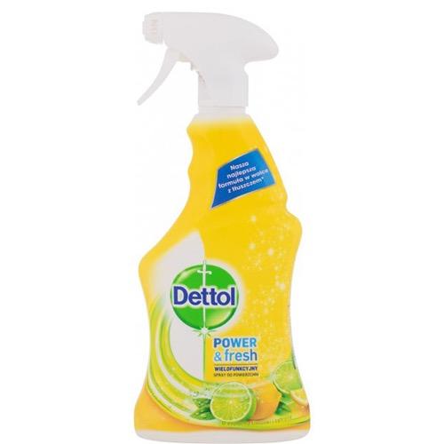 DETTOL spray power & fresh 500ml lemon