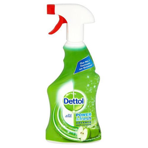 DETTOL spray power & fresh 500ml green apple
