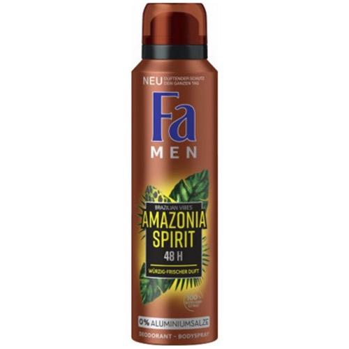 FA spray men 150ml amazonia spirit