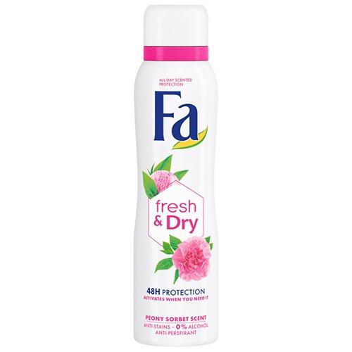 FA spray women 150ml fresh&peony sorbet 0% alkohol