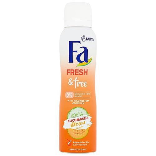 FA spray women 150ml fresh&free cucumber melon 0%
