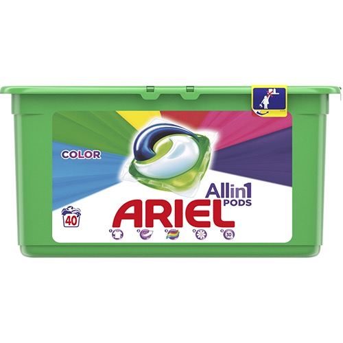 ARIEL 40 caps (PODS) 1080γρ all in1 (ΕΛ) color