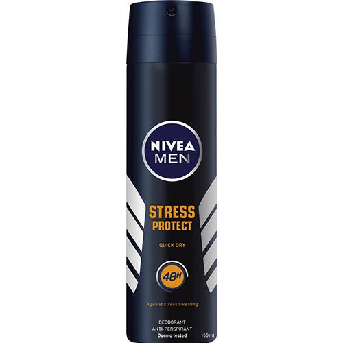 NIVEA spray 150ml men stress protect 48h (ΕΛ)