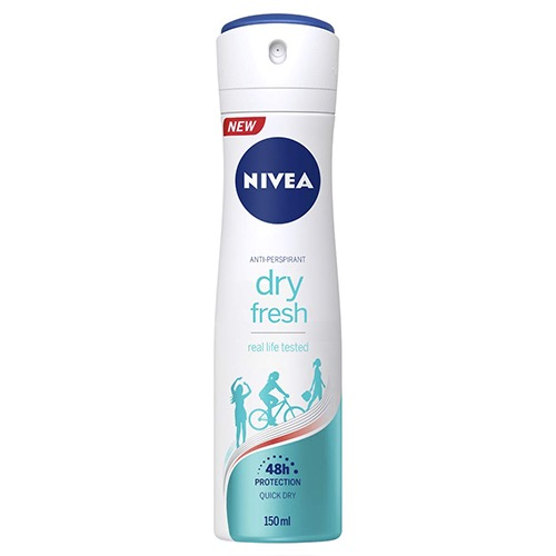 NIVEA spray 150ml women dry fresh 48h
