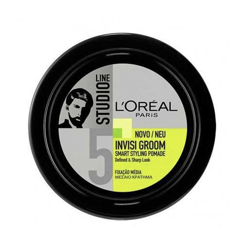 L' OREAL SL πηλός 75ml invisible groom pomade (ΕΛ)