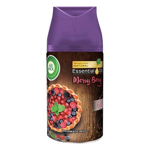 AIRWICK fr.matic ανταλ. 250ml merry berry