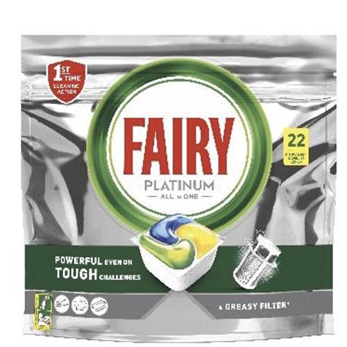 FAIRY ACTIVE CAPS 22τabs platinum lemon