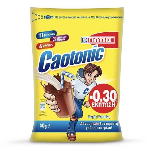 ΓΙΩΤΗΣ CAOTONIC χ. γλουτένη 400gr -0,30 (ΕΛ)