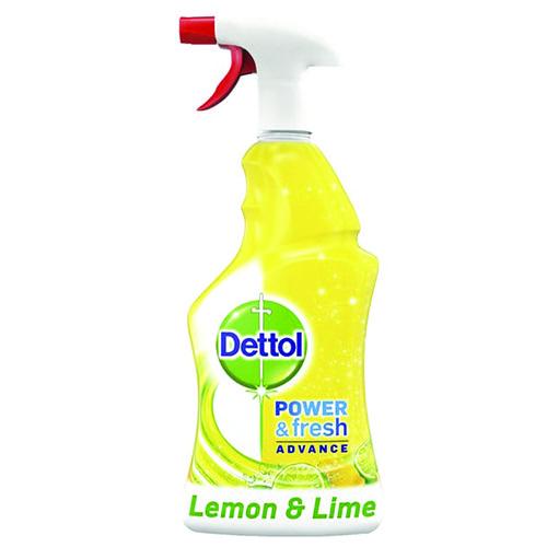 DETTOL spray power & fresh 500ml (ΕΛ) lemon & lime